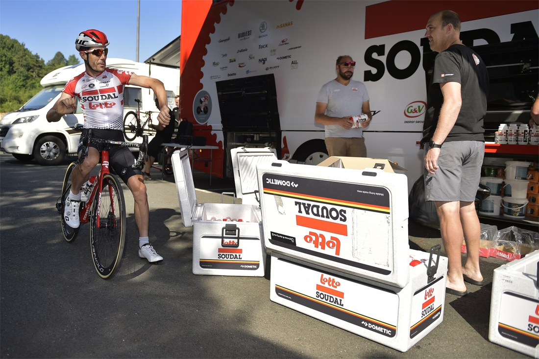 Soudal-Lotto krijgt inbrekers over de vloer in de Tour de Franc
