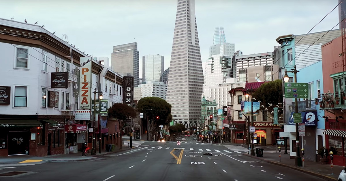 Take an Eerie Walk Through the Empty Streets of Amsterdam, San Francisco, and New York City