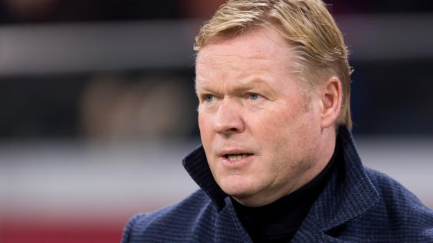 Ronald Koeman: Netherlands manager feels 'fit as a fiddle' after chest complaints